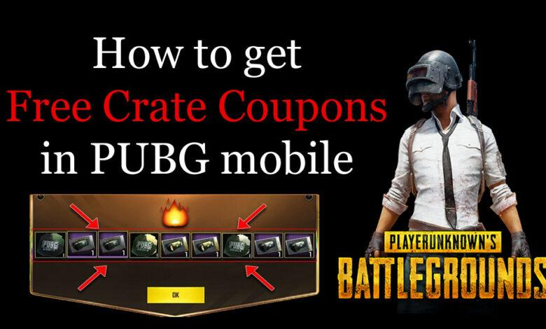 How to get Free Crate Coupons in PUBG mobile