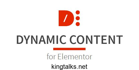 Dynamic Content for Elementor 1.14.0 Nulled